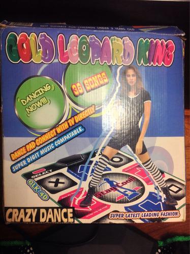 crazy dance alfombra para baile