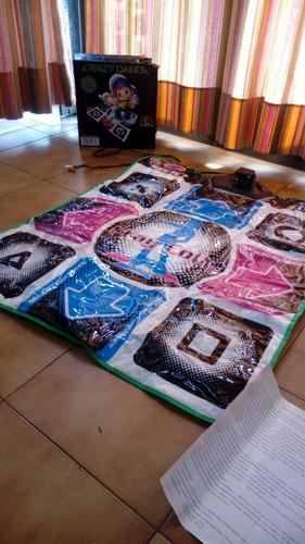 crazy dance alfombra, usada en buen estado