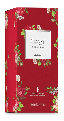 crazy feelings des. colônia boticollection, 100ml