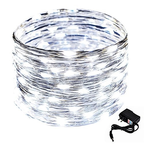 crazyfire 33 pies / 10 m de alambre de cobre led luces de ca