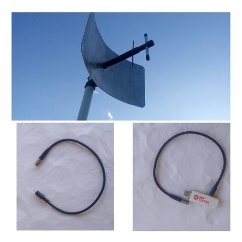 crc9 ts9 conector adaptador f81 para modems internet 4g lte