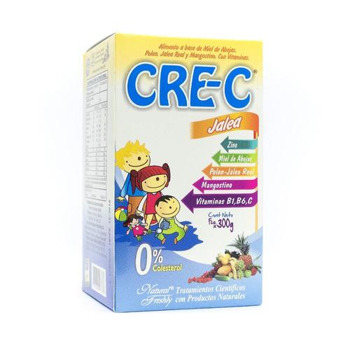 cre-c  (jalea real, miel de abejas ,polen,mangostino, vitami