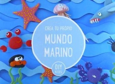 crea tu propio mundo marino(libro )