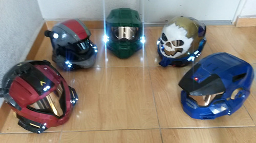 creación de cascos daftpunk halo depredador y mas...