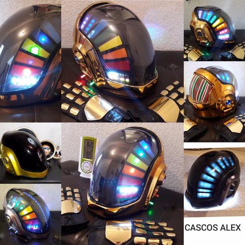 creacion de cascos daftpunk halo ironman depredador y mas...