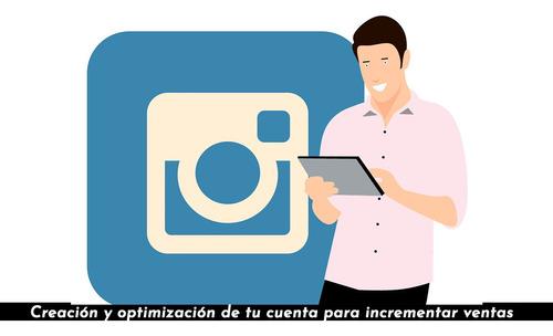 creación de contenido para redes sociales y página de venta