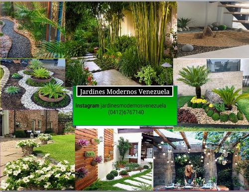 creación de jardines modernos