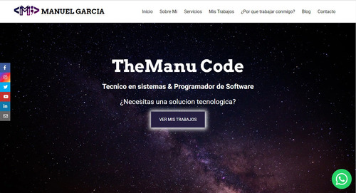 creación de paginas web profesionales
