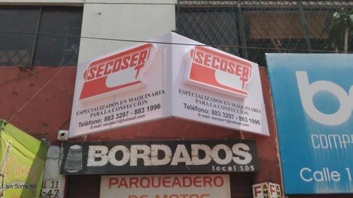 creación e instalación de avisos publicitarios