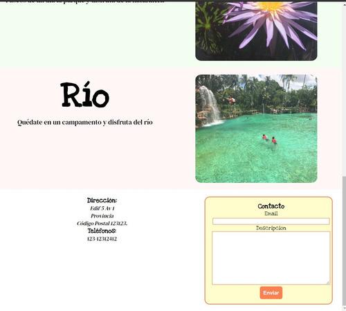 creacion o desarrollo de sitios web