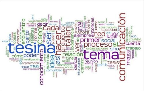 creación y corrección de tesinas y tesis (esp.; mgst,doc.)