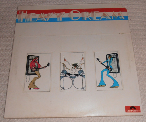 cream - heavy cream ( doble l p 1ra. ed. u s a 1972)