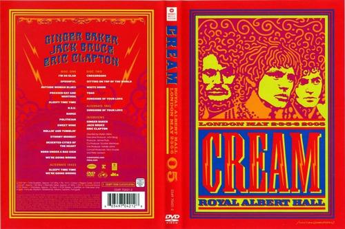 cream - royal albert hall london may. 2-3-5-6 2005