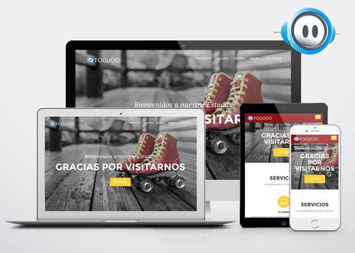 creamos tu página web por $199/mes. hosting incluído.