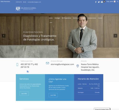 creamos tu página web profesional, paquete todo incluido