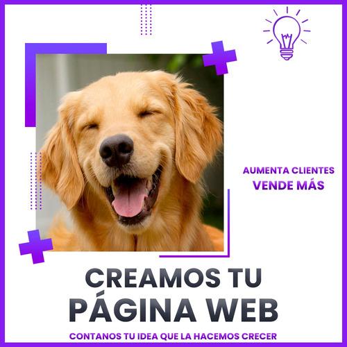 creamos tu página web - vende más - diseño web diseñador web
