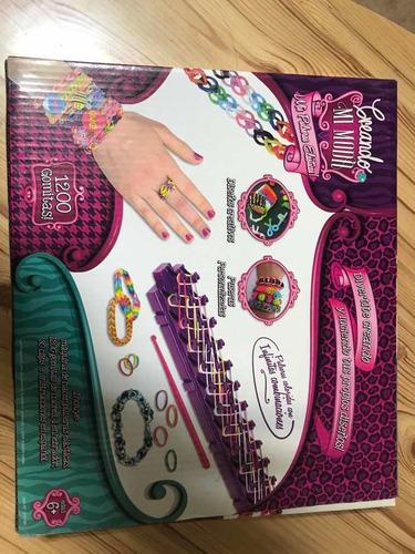 crear pulseras elásticas- 1200 gomitas