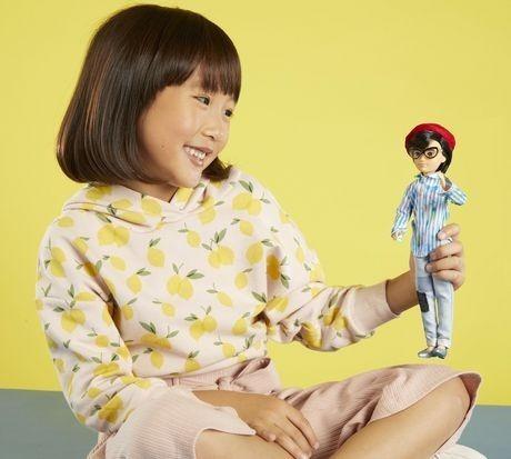 creatable world barbie mattel oriental dc-073 fashion