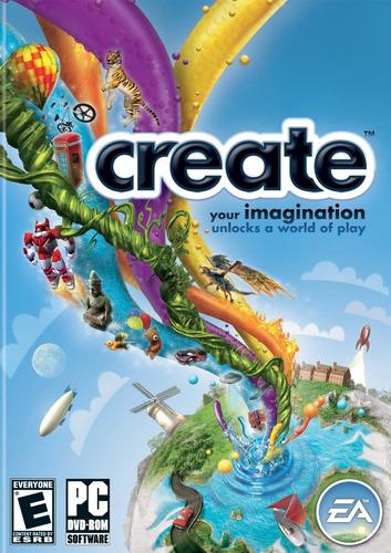 create - juego pc clasico original htg