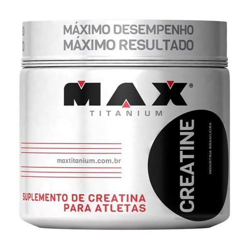 creatina 300g max titanium - (a pronta entrega)