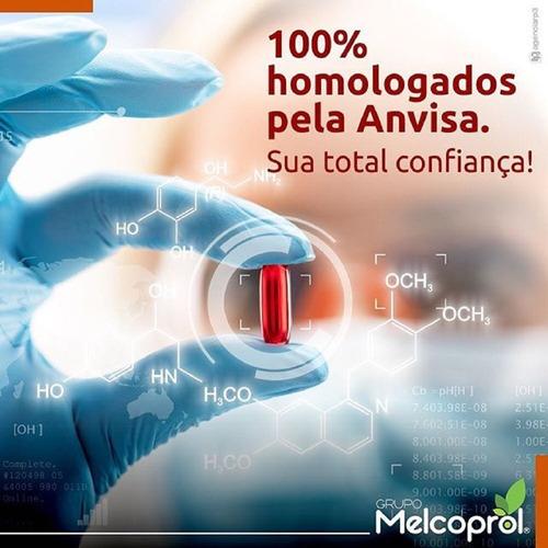 creatina 500mg 120 cápsulas suplemento p/ athetas melcoprol