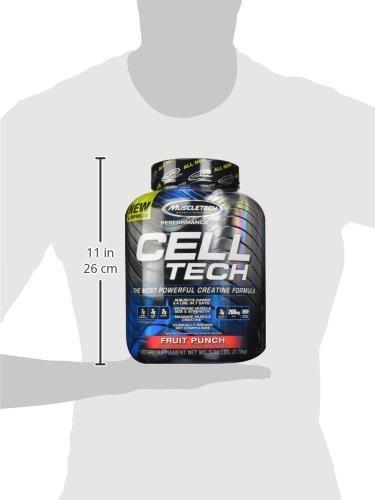 creatina cell tech 6 lb - muscletech + envío gratis