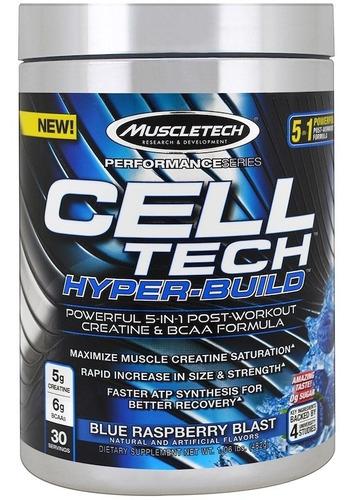 creatina cell tech hyperbuild muscletech   30 servicios