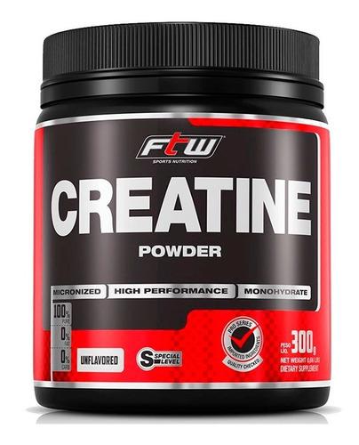 creatina em pó powder ftw - fitoway - 3x300g