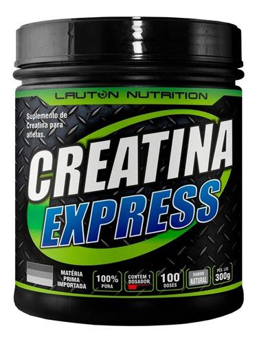 creatina express micronizada pó 300g - lauton nutrition