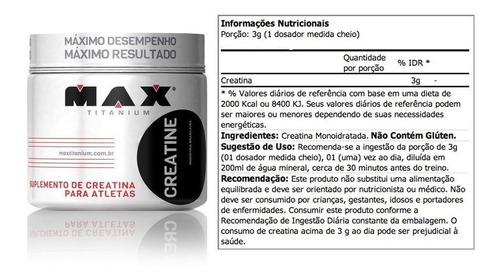 creatina max titanium