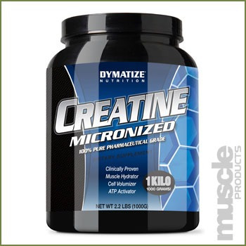 creatina micronizada dymatize 1000 gm 100% pura 1kl