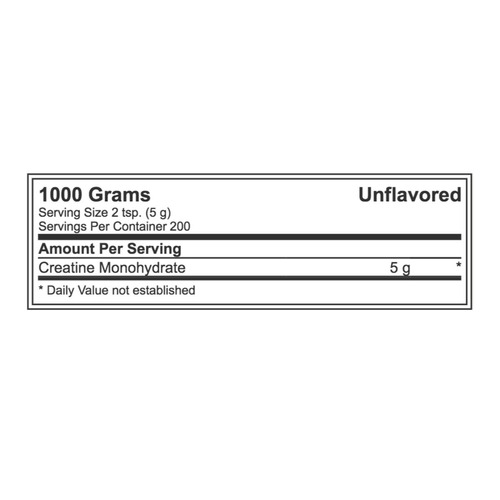 creatina monohidratada 1000g - dymatize + envío gratis