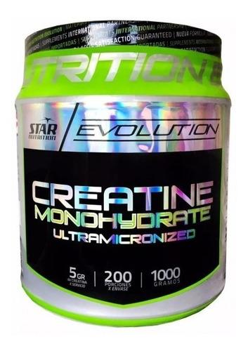 creatina monohidrato ultramicronizada star nutrition (1 kg)