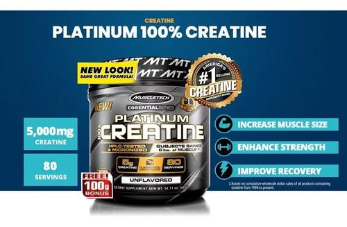 creatina muscletech platinum-800 grs-importada-oferta