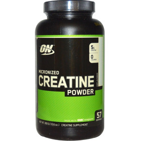 Creatina Optimum Nutrition-micronizada 3oo Grs-oferta