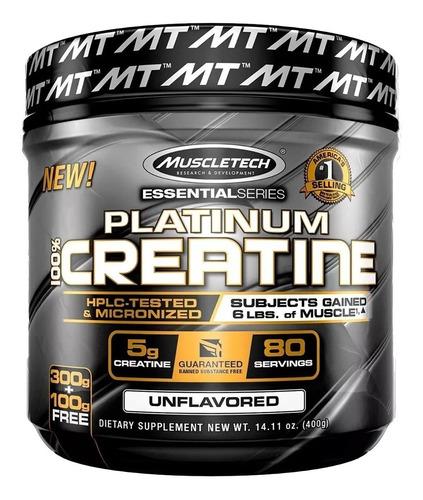 creatina platinum 80 servicios muscletech proteina fit