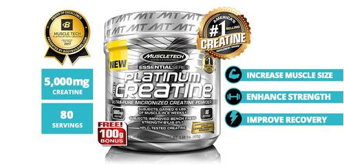creatina platinum alta calidad 400gr