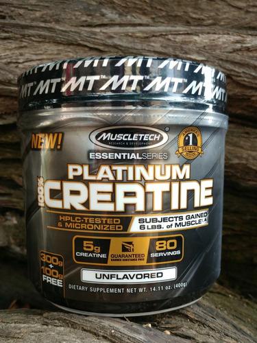 creatina platinum muscletech 15v