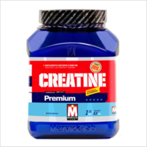 creatina premium 1kg mervick glutamina taurina maltodextrina