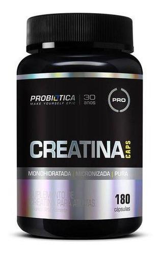 creatina - probiótica - 180 cápsulas