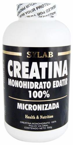 creatina sylab monohidrato micronizada 500g - masa muscular
