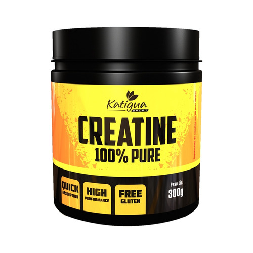creatine 100% pure 300g  - katigua