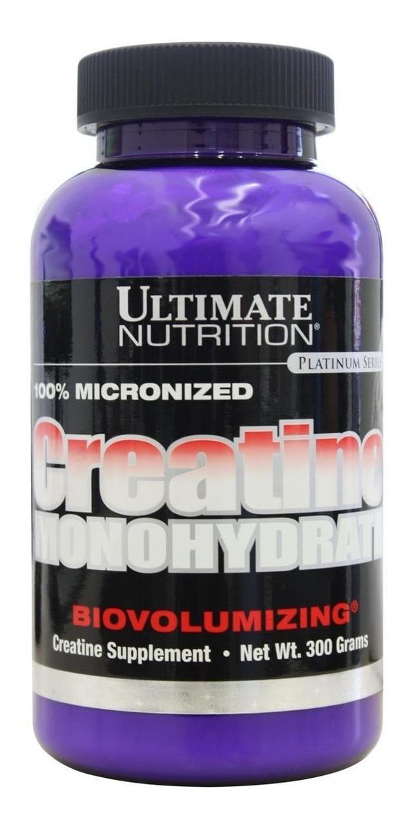 Creatine Monohydrate 300g Ultimate Nutrition R 37 73 Em Mercado Livre