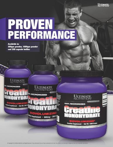 creatine monohydrate 300g ultimate nutrition