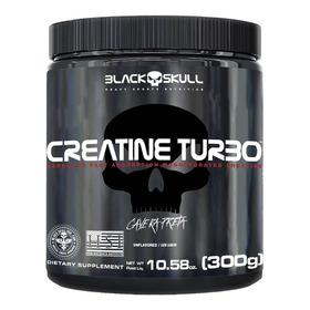 Creatine Turbo 300g - Black Skull / Original Com Nf