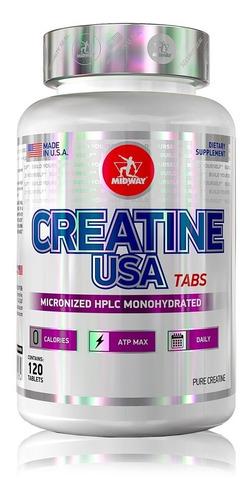 creatine usa 120 caps - midway