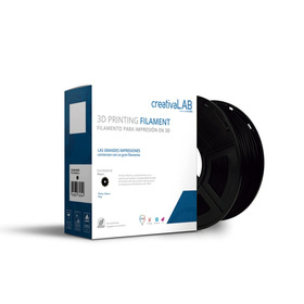 Creativalab - Filamento Creativalab 1.75mm Pla 1kg Negro