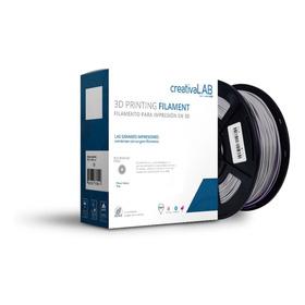 Creativalab - Filamento Creativalab 1.75mm Pla 1kg Plata