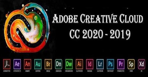 creative cloud cc instalacion 2020 win/mac suite adobe 2019
