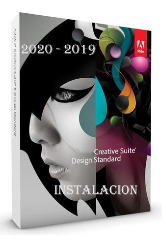 creative cloud win/mac suite adobe cc instalacion 2020 2019